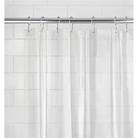 tenda doccia trasparente mdesign rivestimento tenda doccia peva 3g confezione da 2