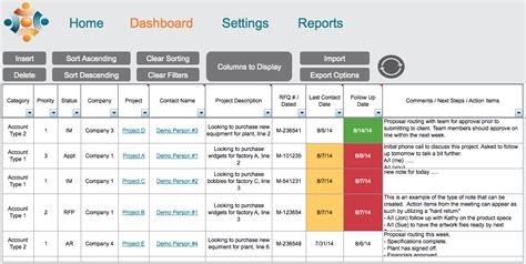 crm excel template crm sales w5 templates productivity made simple