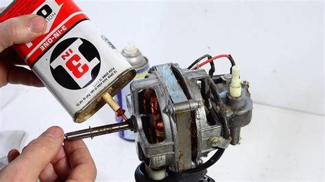 how much is a fan motor fixing a seized oscillating fan motor