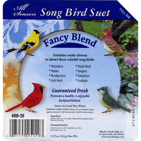 93004 Songbird Discount Code by Wholesale Songbird Suet Cakes Fancy Blend Glw