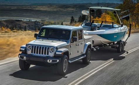 gladiator jeep edition special launch road pickup towing offering models