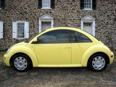 purchase used 2000 volkswagen beetle gls hatchback 2 door 2 0l no reserve in new