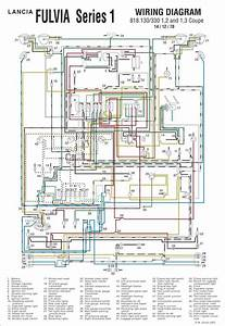 Fulvia S1 Coupe Wiring Diagram In Color