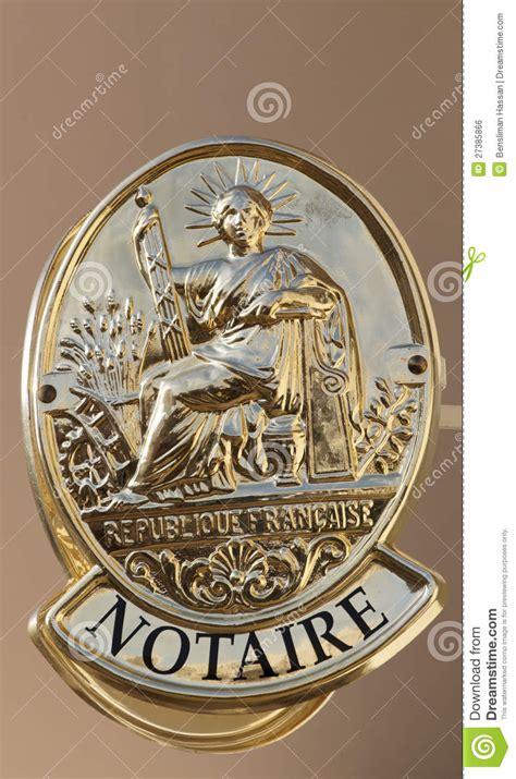 bureau du notaire symbole français du bureau de notaire image libre de