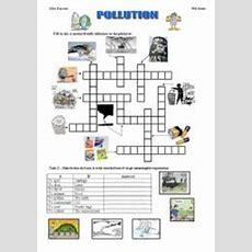 Pollution  Esl Worksheet By Mouka