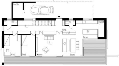 Moderne Häuser Architektur Grundriss by Modernes Haus Am Hang Weinfelden Km Architektur Grundriss