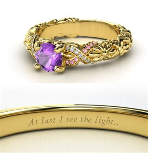 Rapunzel Engagement Ring   Disney Engagement Rings