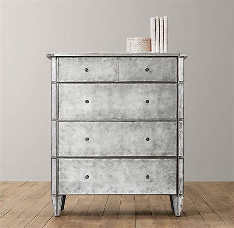 Mirrored Tall Dresser by Ava Mirrored Tall Dresser