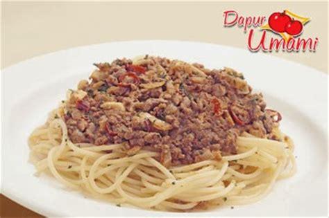 Bumbu resep membuat spaghetti mudah dirumah. Resep Spaghetti Bumbu Rendang | Resep Dapur Umami