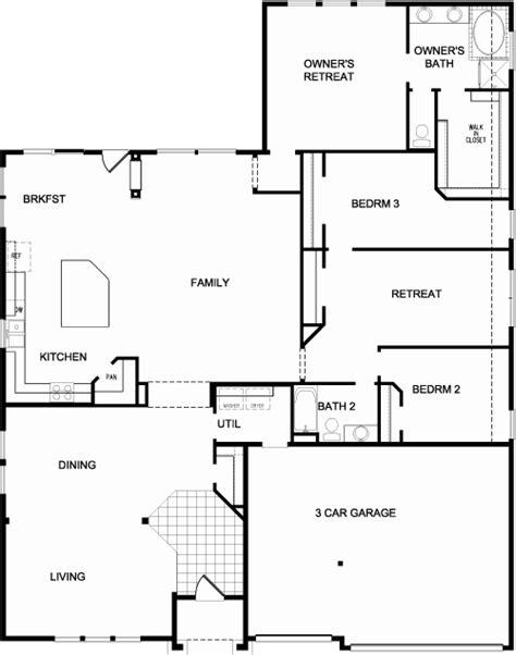 david weekley homes in tx open floorplan for the home