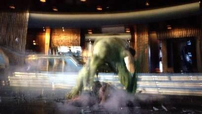 Hulk Loki Throwing Around Hawktalk