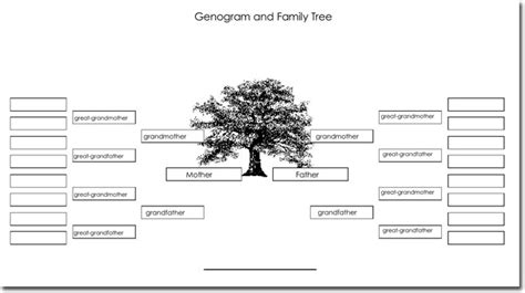 Free Genogram Template For Mac by 21 Genogram Templates Easily Create Family Charts