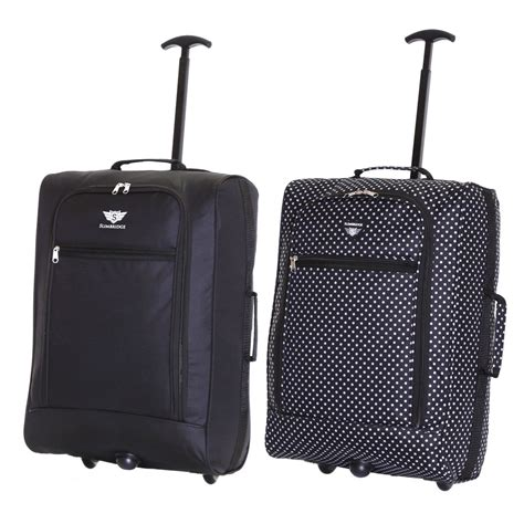 Easyjet Cabin Suitcase by Ryanair Easyjet Flybe Set Of 2 Cabin Approved Trolley