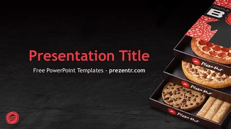 pizza hut powerpoint template prezentr  templates
