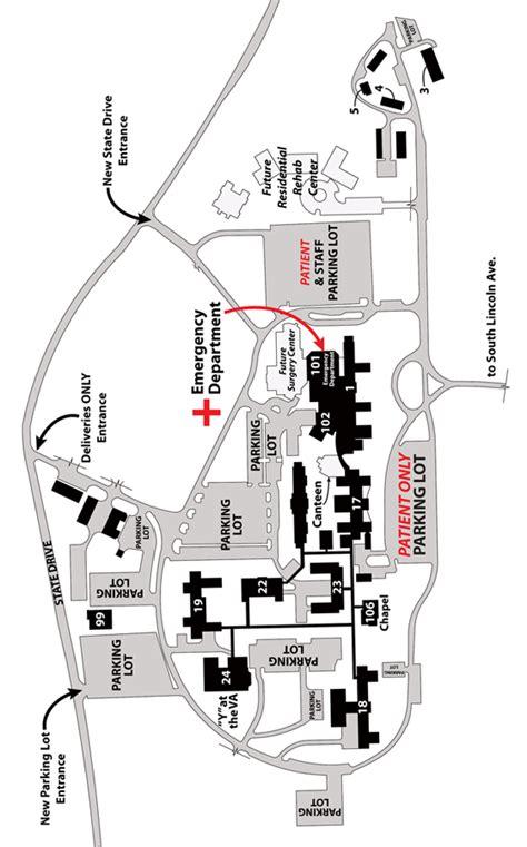 map lebanon va medical center