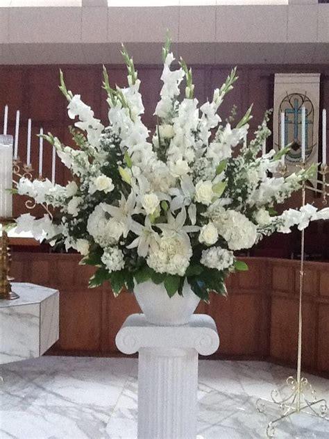 altar flower arrangements bloomfields weddings