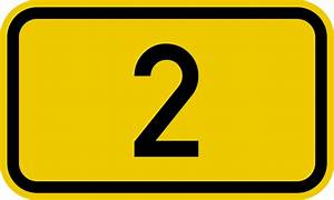 File:Bundesstraße 2 number.svg - Wikimedia Commons  2