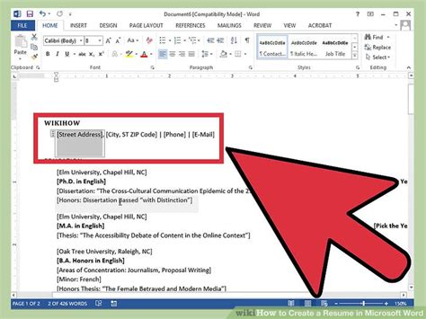 how to write resume in microsoft word how to create a resume in microsoft word with 3 sle