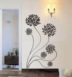chrysanthemum flower vinyl wall decal by 7 decals contemporary wall decals by etsy