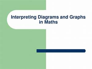 Interpreting Diagrams And Graphs