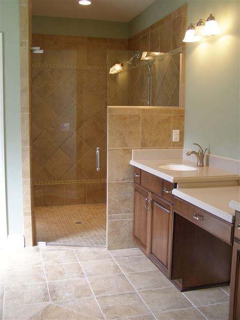 home designer ceramic tile walk  shower designs walk