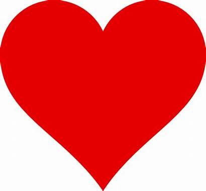 Heart Simple Clipart Clip Cliparts Vector Clker