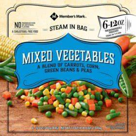Search for frozen vegetables - Sam's Club