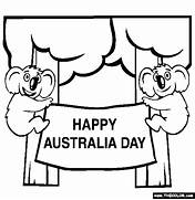 australia day online coloring pages page 1