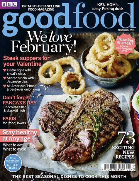 magazines cuisine immediate pancakes or steak food magazine