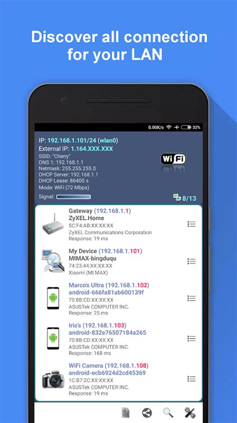 network scanner android apps on play