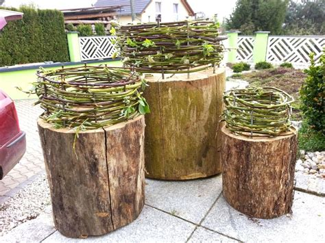Weihnachtsdeko Für Garten Selber Machen by Diy Deko Mit Baumst 228 Mmen F 252 R Drinnen Und Drau 223 En With