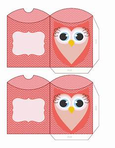 owls for sweet 16 free printable pillow boxes oh my With owl pillow box template