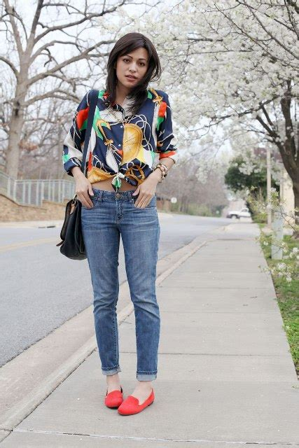 22 Excellent Spring Outfit Ideas With Orange Shoes - Styleoholic