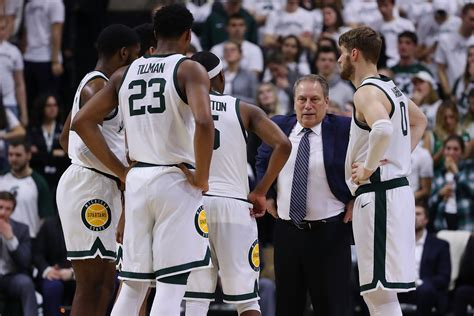 michigan state basketball comparing  spartans