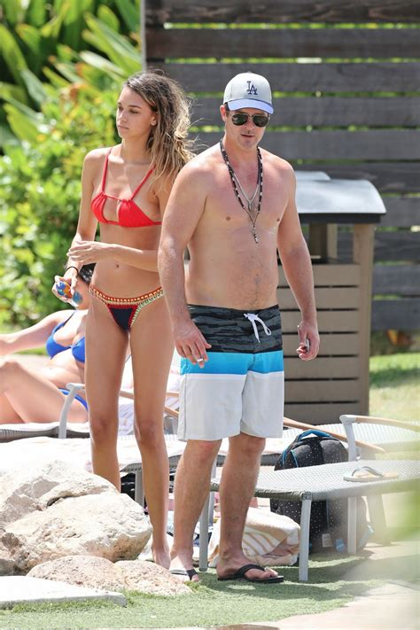 emily baldoni bikini april love geary in bikini hits the pool with robin