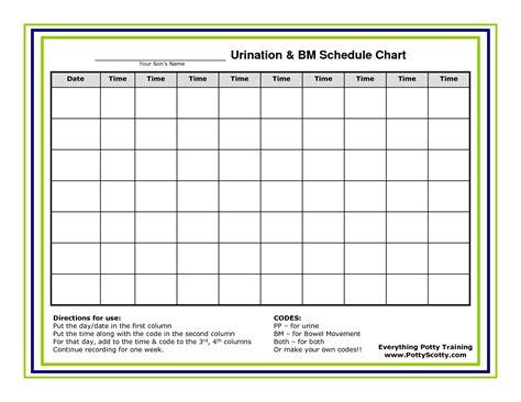 time chart template work schedule template calendar template 2016