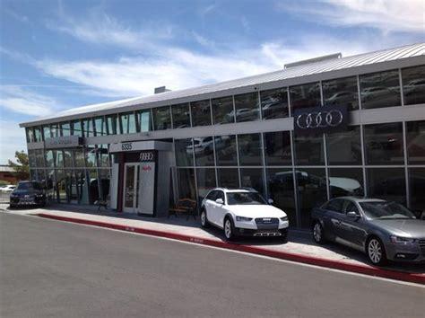Dealership Las Vegas by Audi Las Vegas Las Vegas Nv 89146 Car Dealership And