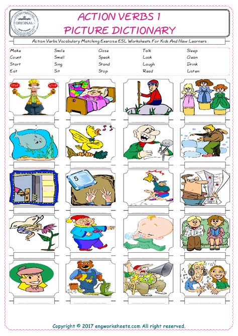 worksheets  teaching verbs  worksheet blog