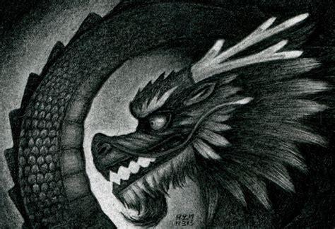 draw  chinese dragon step  step dragons draw