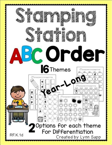 stamping station abc order  images abc order