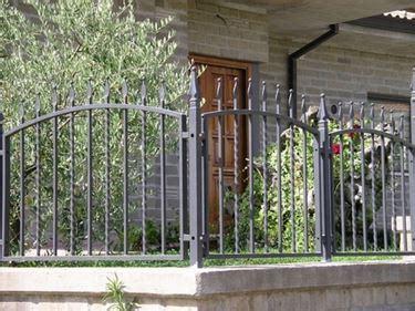 ringhiera giardino le ringhiere in ferro ringhiere