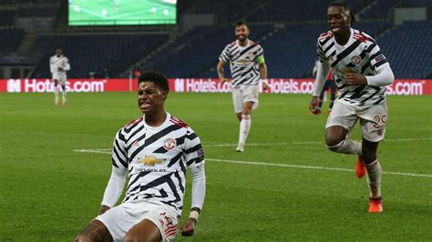 UEFA Champions League: Rashford saves the day for United ...