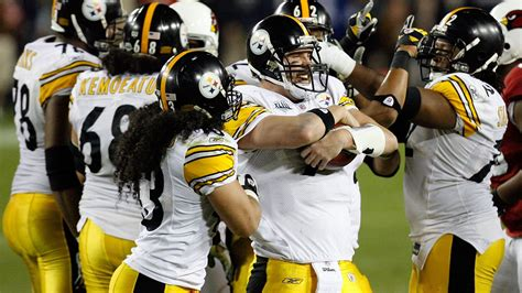steelers  cardinals super bowl  voted  greatest   time   steel curtain