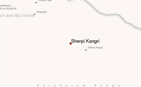 Sherpi Kangri Mountain Information