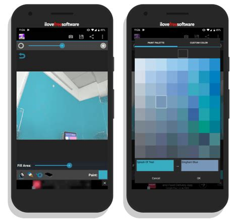 try different paint colors walls with these free android apps