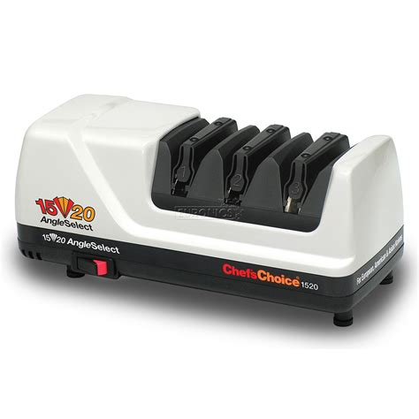 Test Kitchen Electric Knife Sharpener by Electric Knife Sharpener Chef S Choice M1520