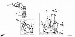 Resonator Chamber  V6  For 2016 Honda Accord Sedan