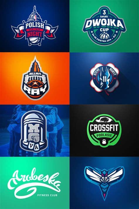 awesome sports logo designs  kamil doliwa logos icons