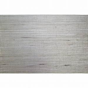 Grey Grasscloth Wallpaper