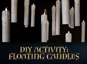 Bougie Harry Potter : diy floating candles halloween harry potter bougies harry potter et d coration halloween ~ Melissatoandfro.com Idées de Décoration